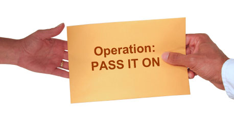 Operation Pass It On